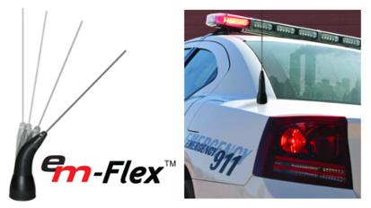 E/M-Flex™ Poly Spring  Antennas