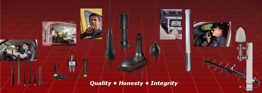 Police scanner antennas